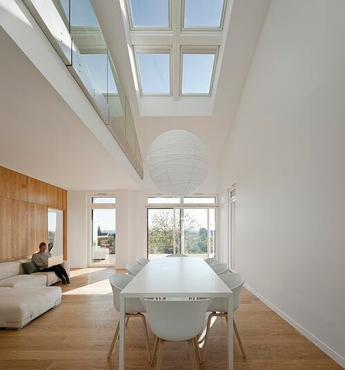 VELUX Combination System allows you to install multiple skylights in one space to enhance the aesthetic of your home