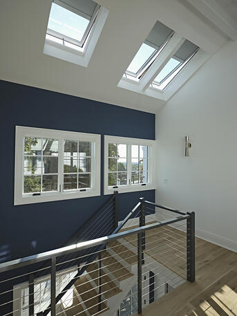 VELUX Combination System is perfect for when you want to install multiple skylights